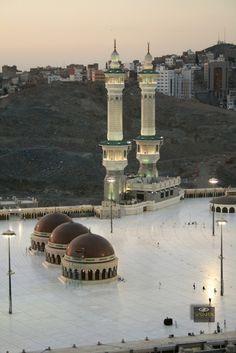 DesertRose,,,Qiblah Lines on Roof of Masjid al-Haram in Makkah, Saudi Arabia