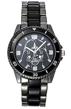 Star Wars Watch (Gun Metal Stainless Steel) @ niftywarehouse.com #NiftyWarehouse #Geek #Products #StarWars #Movies #Film
