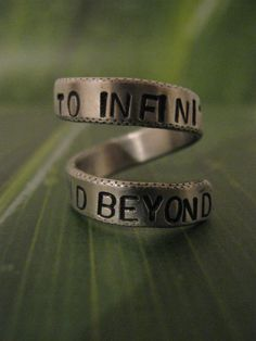 To infinity and beyond Infinity ring
