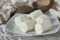 Rotolini al cocco, ricetta veloce senza cottura