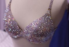 What girl doesn't need a bedazzled bra?