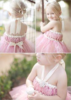 Cute flower girl!