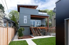 Posts about fibre-cement cladding written by david House Cladding, Facade House, Style At Home, Fibre Cement Cladding, Vancouver House, Exterior Siding, Loft, House Extensions, Architecture