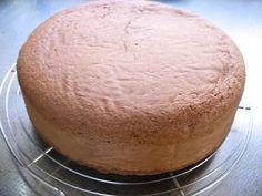 Great recipe for Light and Moist Chocolate Sponge Cake. I learned this recipe from my mother. The sponge is moist, light and delicious!! Chocolate cakes made with this sponge base is the best! Try my milk sponge recipe too!   For 18 cm [7.1 in] (or 20 cm) diameter cake (see notes for other sizes)).   (Recipe by Mareko)