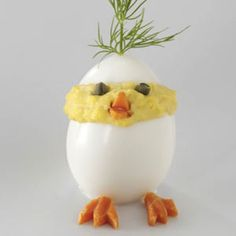 Cute Chick Deviled Egg 2