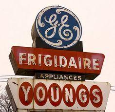 Flyer Goodness: Vintage Neon Signage