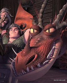 Dreamwork's Dragons - Race To The Edge Promo   ... - A Chief Protects His Own