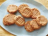 Flourless Peanut Butter Cookies- great for kids to make & yummy
