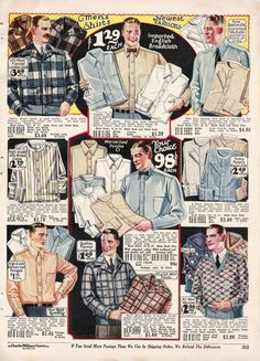 1920s Mens Shirts and Collars History
