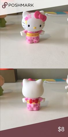 Hello Kitty Figurine Plastic Doll in great condition! Limited edition collectible. Open to reasonable offers through feature! Sanrio Other