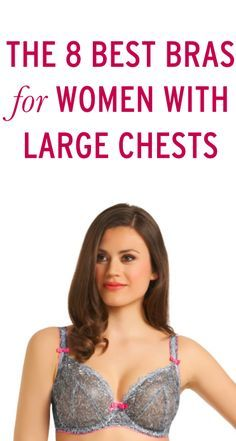 8 of the best bras for women with large chests