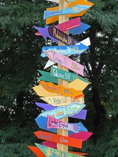 Landscaping Near Me Hiring Landscaping Near Me, Landscaping Ideas, Directional Signs, Trash To Treasure, Garden Signs, Beach Signs, Camping Crafts, Garden Crafts, Garden Art