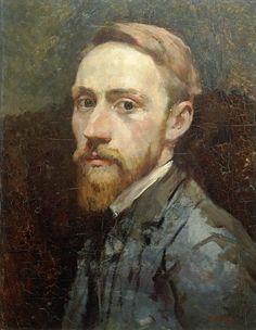 Self Portrait, c.1889-90 (oil on canvas) - Edouard Vuillard