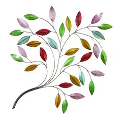 Benzara Metal Leaf Wall Decor a Natural Beauty *** Special  product just for you. See it now! : Home Decor Sculptures