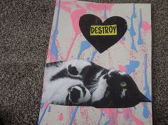Destroy Valentine by TheEscapistArtist on Etsy, $4.50