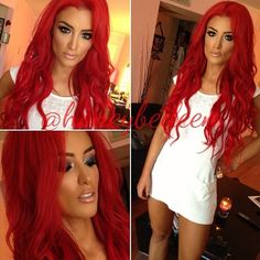 Eva Marie. wish i could have this hair color! #TotalDivas