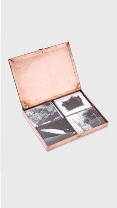 Well Received Copper Box Stationary Gift Set in Copper Box, Mixed Art Series Cards | The Dreslyn