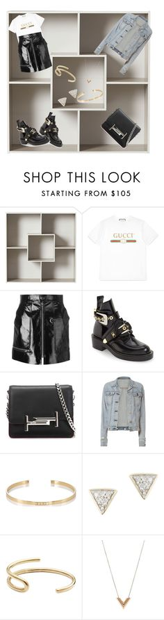 """Untitled #7"" by jolinlin ❤ liked on Polyvore featuring Gucci, Isabel Marant, Balenciaga, Tod's, rag & bone, Ileana Makri, Adina Reyter, Fay Andrada and Louis Vuitton"