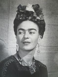 Frida Kahlo © Bernard G. Silberstein 1940  #FridaKahlo #Silberstein