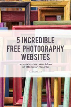 5 Incredible Free Photography Websites — Martine Ellis