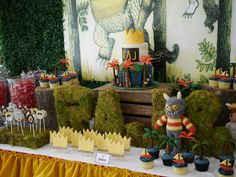 Where The Wild Things Are Birthday Party via Kara's Party Ideas | The Place for All of Your Party Needs! KarasPartyIdeas.com (7)