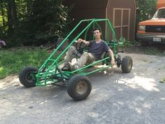 painting the off road go kart part 2 - YouTube