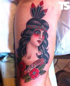 Tattoo by Marie Sena