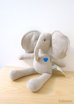 both my love and I had stuffed elephants as babies our baby will have one too (or a few).