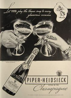 1934 Champagne Ad www.MadamPaloozaEmporium.com www.facebook.com/MadamPalooza