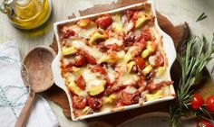 Tortelloni-Auflauf mit Parmaschinken Rezept | Dr. Oetker