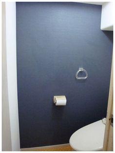トイレの壁紙張替え後