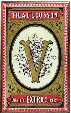 Résultats - Bn-R Vintage Labels, Vintage Cards, Retro Vintage, Printable Vintage, Modern Typography, Vintage Typography, Vintage Sewing Notions, Sweet Violets, Sewing Tools