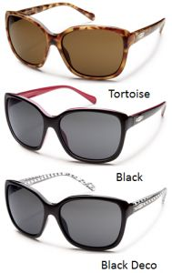 Hot and spicy, Cayenne has attitude and style in a large coverage, updated vintage cateye shape. Rich colors in a TR90 grilamid frame and a fresh logo plaque complete the look. With 100% protection from harmful UV rays and polarized polycarbonate lenses, this cat will be your new favorite.