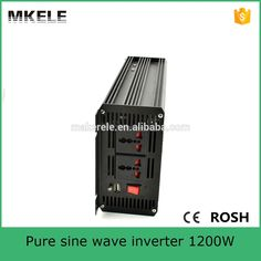 MKP1200-121B off grid 12vdc to 110vac single output pure sine wave 1200W solar power inverter for home use made in China #Affiliate