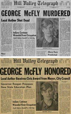 George McFly Honored