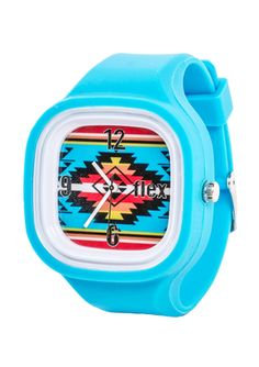 FLEX Interchangable Silicone Band Watch