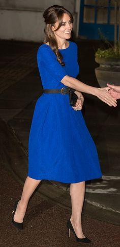 The Duchess of Cambridge wearing Saloni - best dressed celebrities this week: 16 november