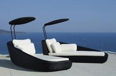 Modern Luxury Outdoor Sunbed Seating Lounge Chair-new 2013 Outside Furniture, Modern Outdoor Furniture, Pool Furniture, Furniture Direct, Rattan Furniture, Smart Furniture, Furniture Storage, Industrial Furniture, Furniture Design