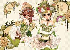 SweetsGirls by sakizo.deviantart.com on @deviantART