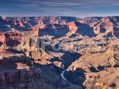Arizona, Grand Canyon, from Pima Point, USA by Paul Gauguin Landscapes Photographic Print - 61 x 46 cm