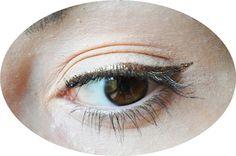 #makeup #me #girl #polishgirl #eyeliner #gold