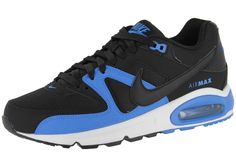 quality design bb0e1 69145 Heren Trainers Nike Air Max Command Leer Zwart Royal Blauw,Wearing trainers  will have a nice day.