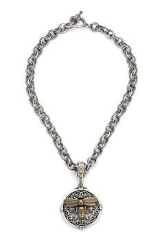 PROVENCE CHAIN WITH MIEL STACK MEDALLION