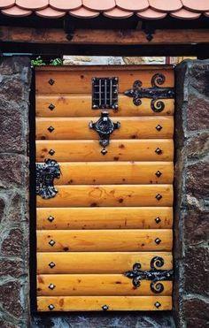 Lovely door found in Belgrade, Serbia