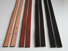 Leather Replacement Strap Handles Bag Straps Purse Set Of 2 Handle For Bags With Buckles Or Rivets