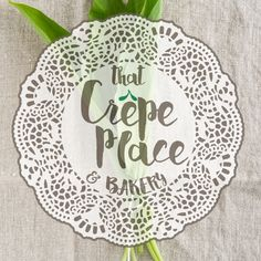 That Crepe Place and Bakery Logo