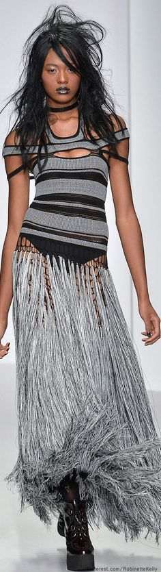 Mark Fast | Is this fringe skirt cool or what?!