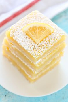 CLASSIC LEMON BARSReally nice recipes. Every hour.Show me what  Mein Blog: Alles rund um Genuss & Geschmack  Kochen Backen Braten Vorspeisen Mains & Desserts!