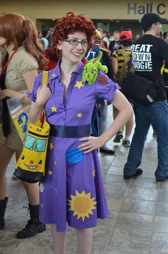 Ms Frizzle costume! Style DIY costumes with this super fun, easy tool (WiShi).