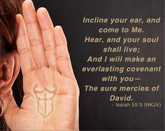 This weeks Memory Scripture - Isa. 55:3